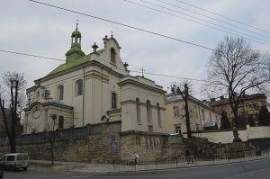 Костел Святого Антонія Падуанського, місто Львів
